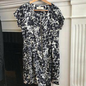 Silk Graham & Spencer zip front dress